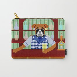 Boxer Dog Beer Pub Carry-All Pouch