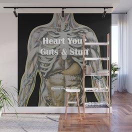 Heart Your Guts & Stuff Wall Mural