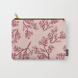 Sakura Branch Painting Carry-All Pouch