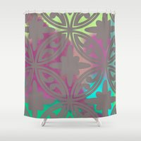 moroccan Shower Curtains featuring *Moroccan* by Mr and Mrs Quirynen