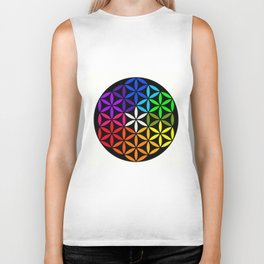 Secret flower of life Biker Tank