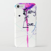 friday iPhone & iPod Cases featuring Friday by Holly Sharpe
