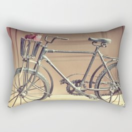Flying Bike Rectangular Pillow