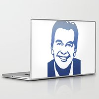 dick Laptop & iPad Skins featuring Dick Clark by PSimages