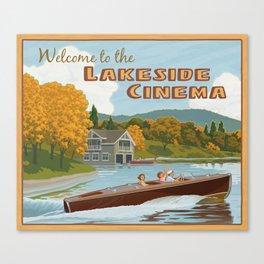 Lakeside Cinema Canvas Print