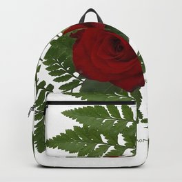 Rose in Winter Backpack
