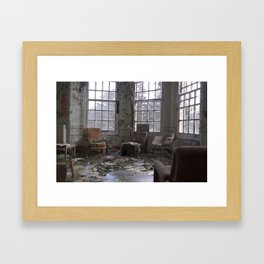 I see through you Framed Art Print