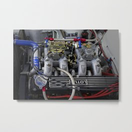 POWERFUL ENGINE Metal Print