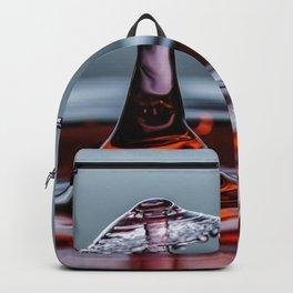 Red liquid Mushroom waterdrop 6890 Backpack