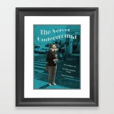 Animal Instinct Framed Art Print