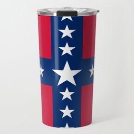 South Carolina Secession Flag Travel Mug