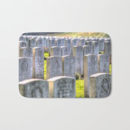 World War One War Graves Etaples Military Cemetery Bath Mat