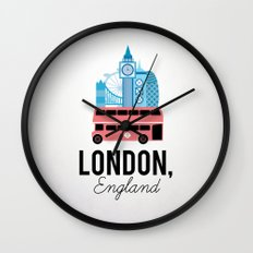 London, England Wall Clock