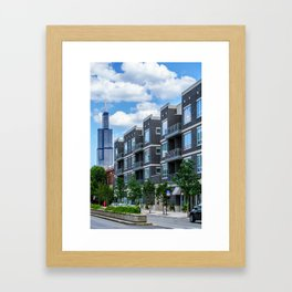 Chicago Neighborhood Framed Art Print