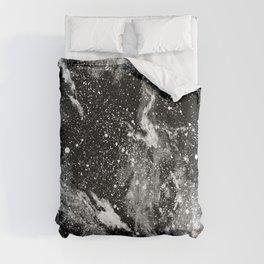Galaxy (B/W) Comforters