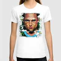 tyler durden T-shirts featuring FIGHT CLUB - TYLER DURDEN by John McGlynn