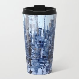 Dream in blue Travel Mug