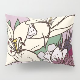 Flowers From The Universe Pillow Sham