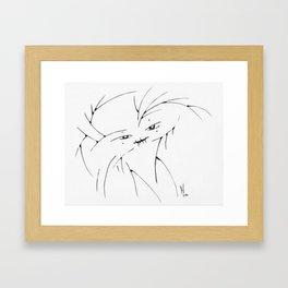 Fentren, Princess Athera's Invisible Friend Framed Art Print