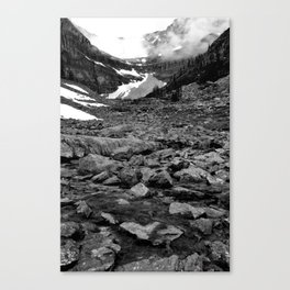 Nameless Rocks Beneath Space Canvas Print