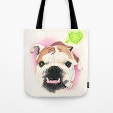 English Bulldog - F.I.P. - @LucyFarted Tote Bag