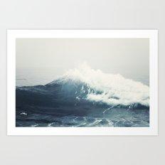 Sea Wave Art Print