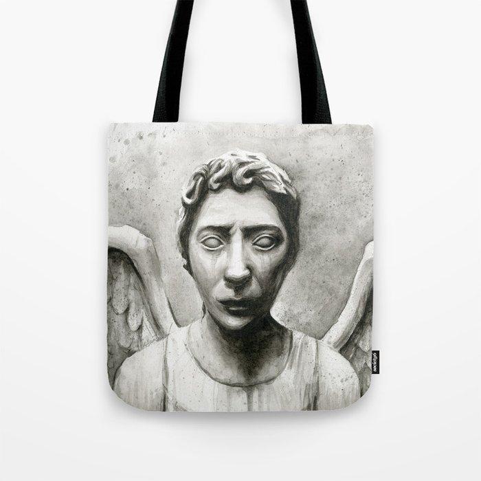 Weeping Angel Tote Bag