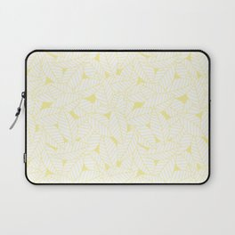 Leaves in Daisy Laptop Sleeve