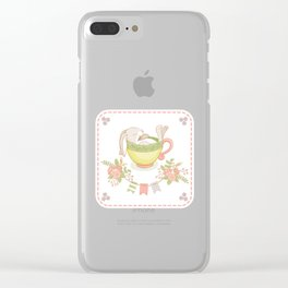 Little Hare Clear iPhone Case