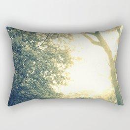 Light Coated Rectangular Pillow