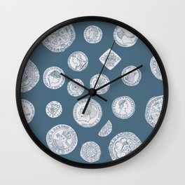 Heads or Tails Wall Clock