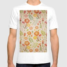 Sunny Cases XIV MEDIUM White Mens Fitted Tee