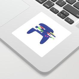 Glitch Controller Sticker