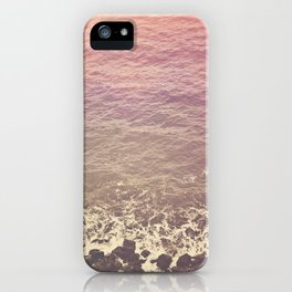 Rocky Beach Retro iPhone Case