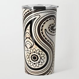 Paisley henna Travel Mug