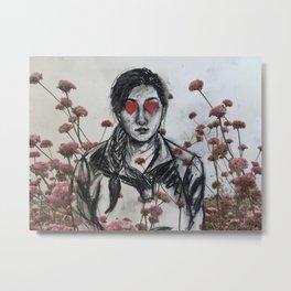 Look of Love in Full Bloom Metal Print