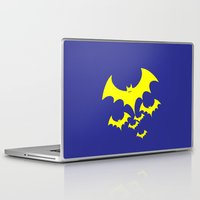 bat Laptop & iPad Skins featuring Bat by Spooky Dooky