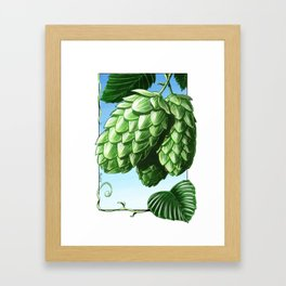 Hops! Framed Art Print