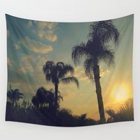 florida Wall Tapestries featuring Florida by Jillian Stanton