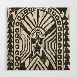 The Cosmic Doorway Wood Wall Art