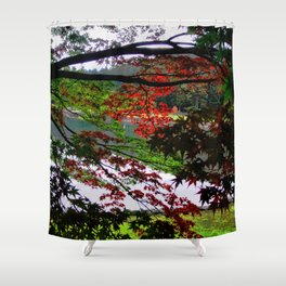 Environ (Japan) Shower Curtain