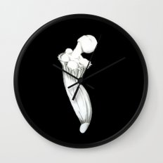 Petunia Bud Wall Clock