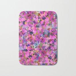 Pink Rainbow Garden Bath Mat