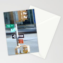 10th and West 23 St Stationery Cards