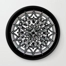 Mandala 008 Wall Clock