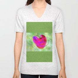 Travelors Heart - reisendes Herz  (A7 B0223) Unisex V-Neck