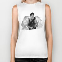 die hard Biker Tanks featuring Badass 80's Action Movie Quotes - Die Hard by Casa del Kables