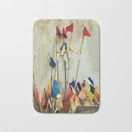 fishing flags Bath Mat