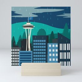 Seattle Fan Mini Art Print