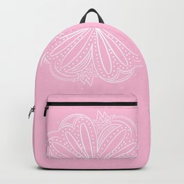 Pretty Little Paisley Thing by Bethany Kelm Backpack
